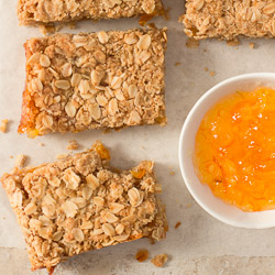 Easy Orange Marmalade Bars / JillHough.com