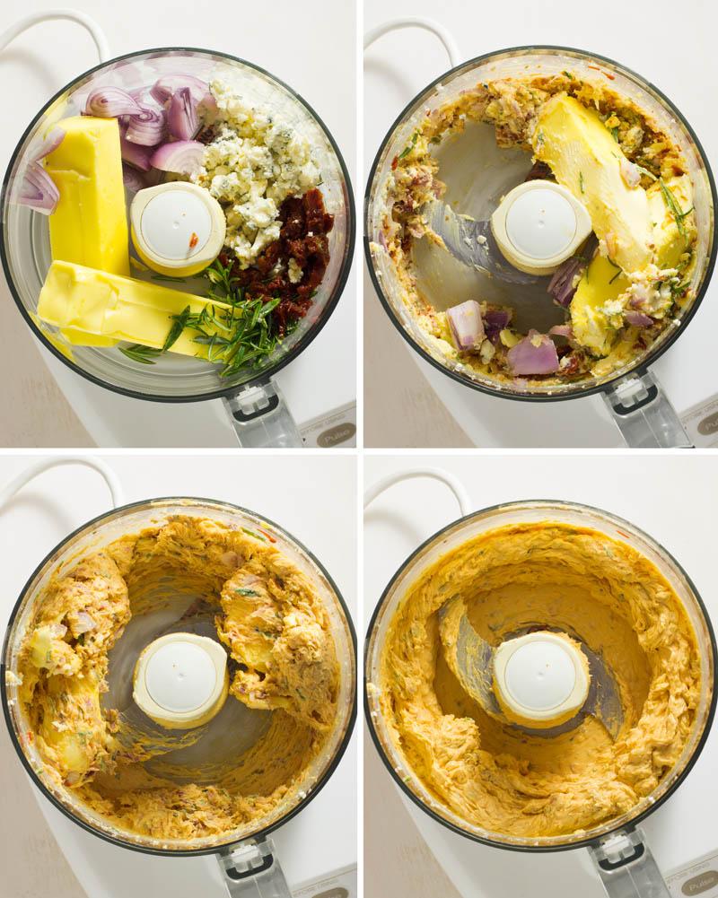 How to make flavored butter / JillHough.com