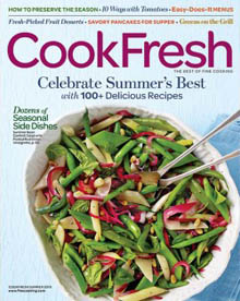 Cook Fresh Summer 2016 Cover / JillHough.com