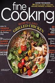 Fine Cooking Aug-Sept 2016 - Cover / JillHough.com