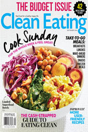 Clean Eating September 2016 / JillHough.com