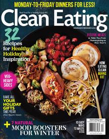 Clean Eating Nov-Dec 2016 / JillHough.com