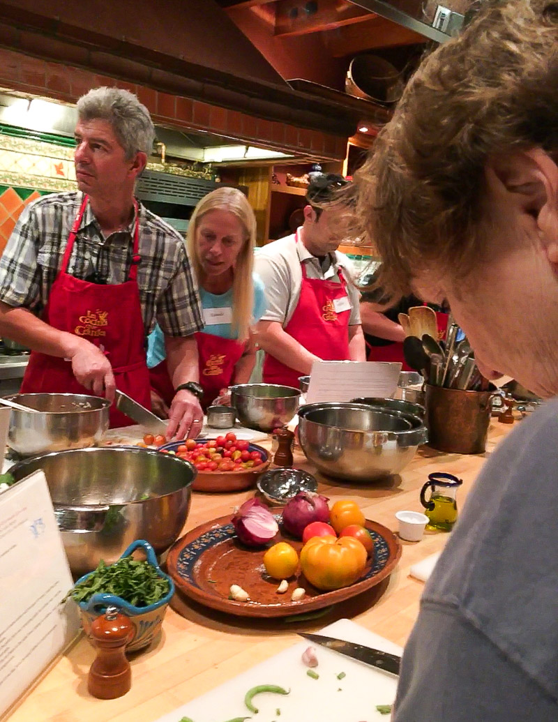 Rancho La Puerta cooking class / JillHough.com