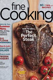 Fine Cooking Aug-Sept 2017 cover / JillHough.com