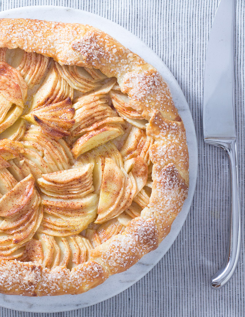 Apple-licious Crostada / JillHough.com