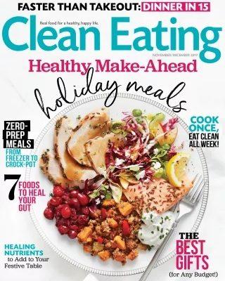 Clean Eating Nov-Dec 2017 / JillHough.com