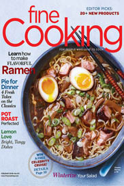 Fine Cooking Feb-Mar 2018 Cover / JillHough.com